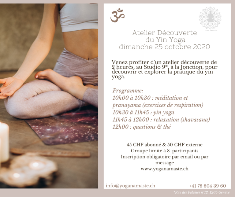 Atelier Yin & Yang Yoga